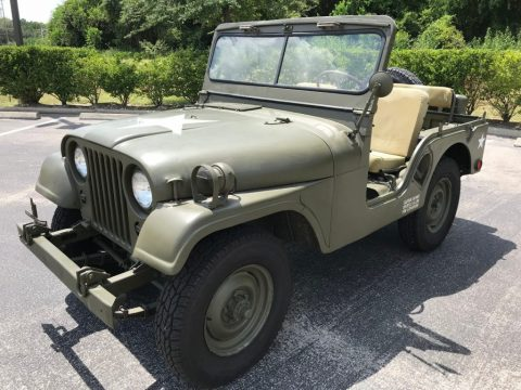 1952 Jeep Willys M38A1 for sale