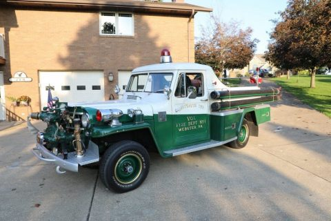 1955 Willys Fire Truck for sale