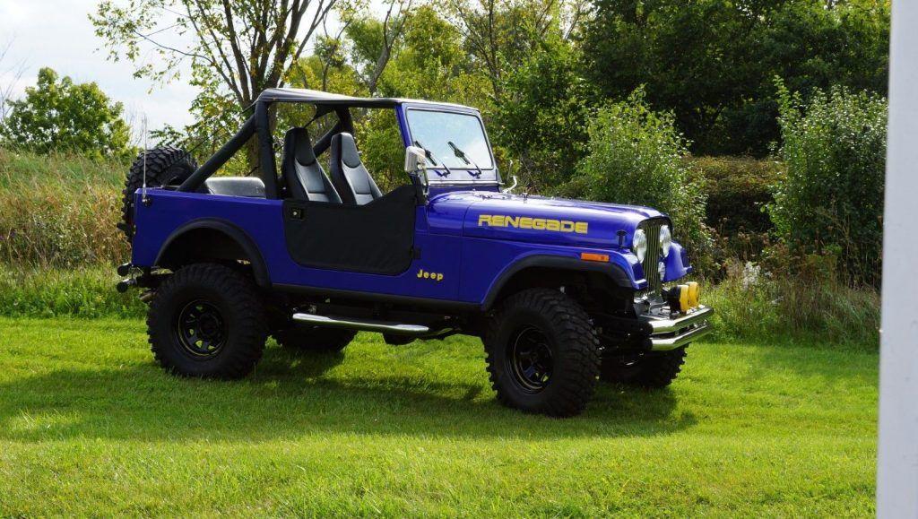 1985 Jeep CJ7  Renegade for sale