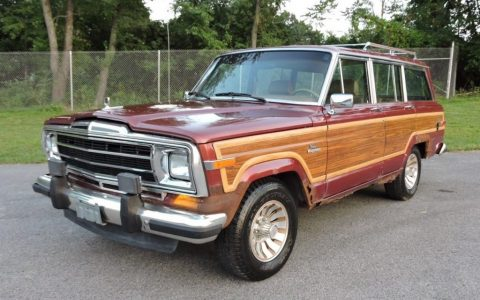 1986 Jeep Wagoneer Grand Wagoneer 4WD for sale