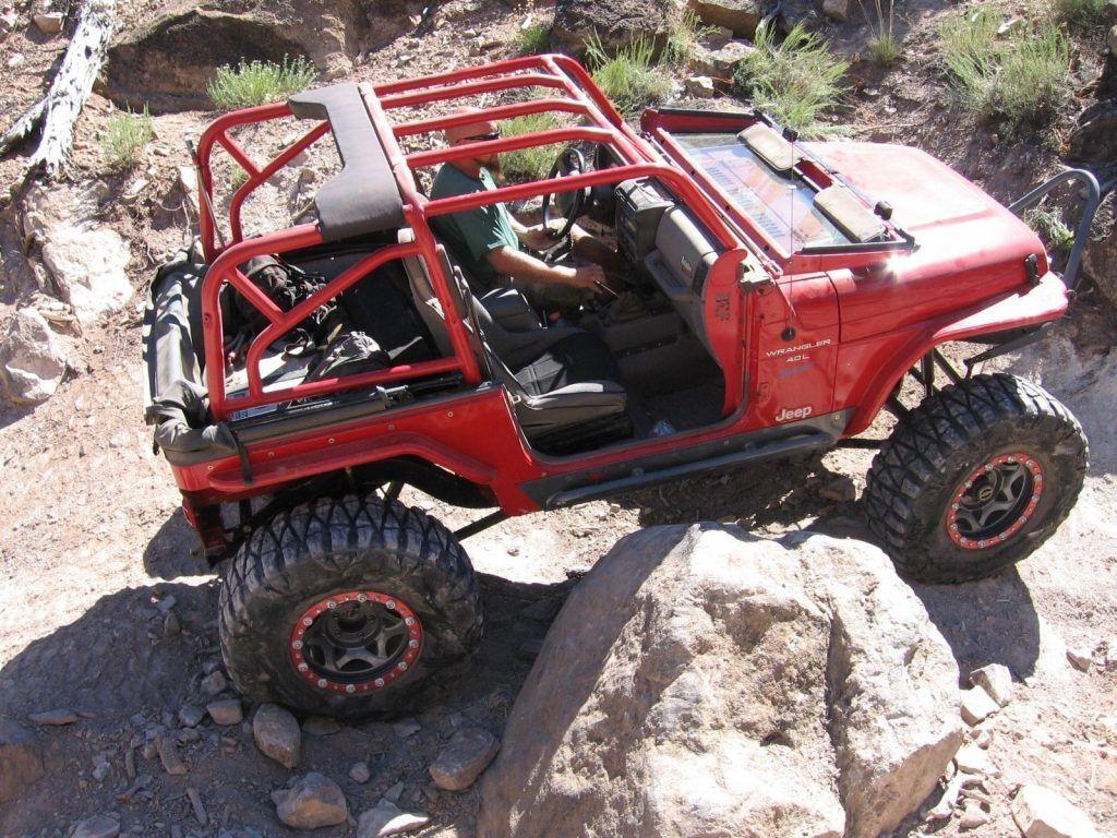 1997 Jeep Wrangler SPORT ROCK CRAWLER for sale