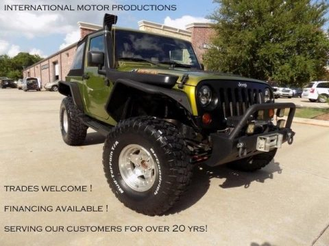 2010 Jeep Wrangler Mountain, Lifted for sale