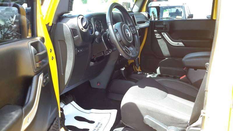 2015 Jeep Wrangler Rubicon 4×4 4dr SUV