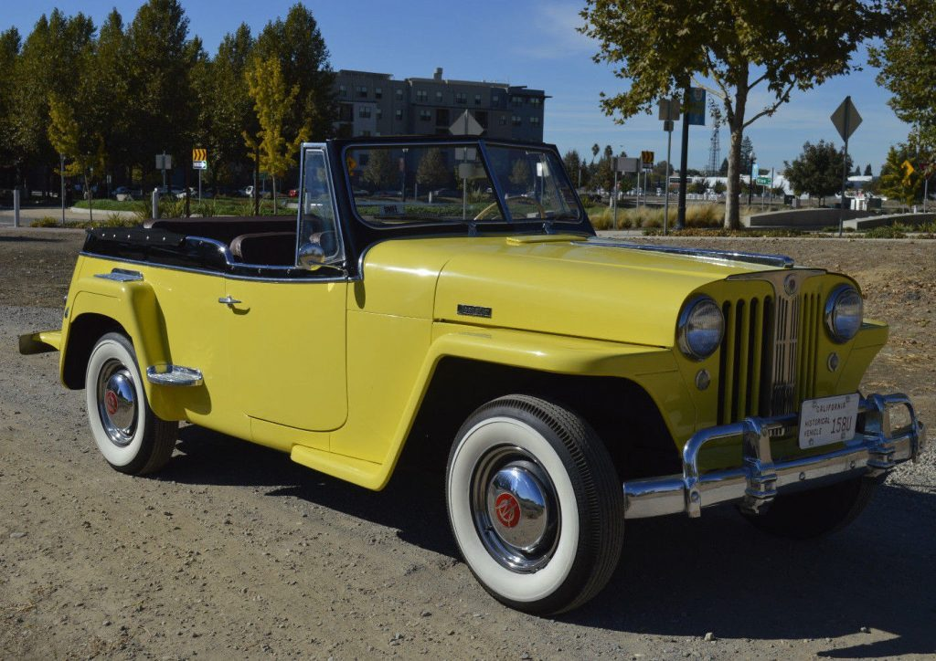 1949 Jeep Willys 439 VJ JEEPSTER