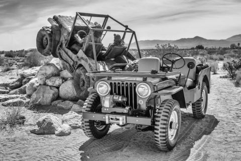 1950 Jeep CJ 3A for sale