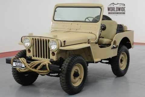 1951 Jeep M38 Restored REAL M38 4×4!! RARE Vintage 4×4. for sale