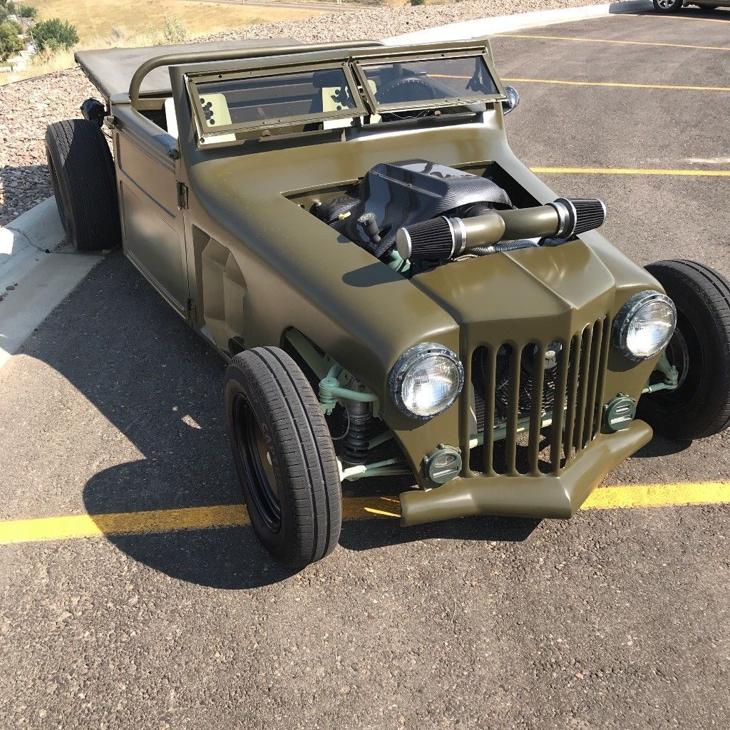 1952 Jeep Willys hot rod rat rod custom for sale