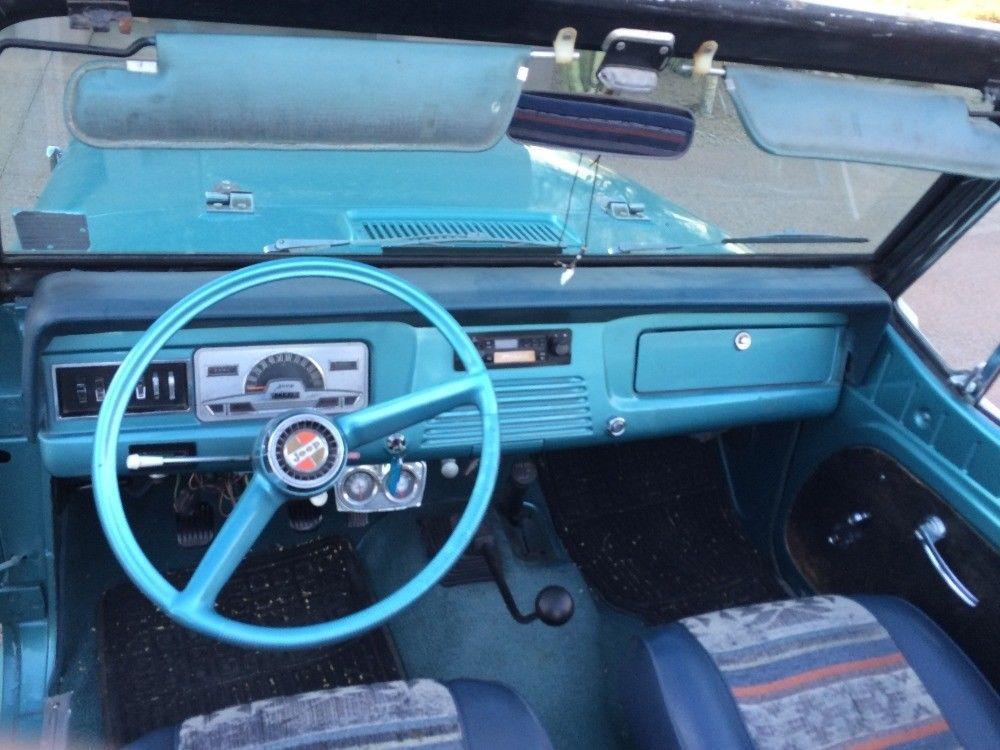 1967 Jeep Jeepster  Commando Convertible   Classics JEEP FUN