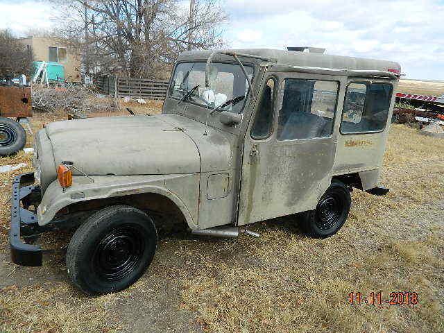 1971 Jeep CJ dj5b