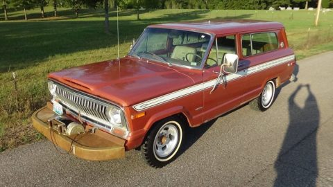 1975 Jeep Cherokee S – All Original for sale