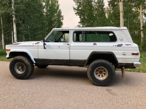 1978 Jeep Cherokee Sport Widetrack Chief for sale