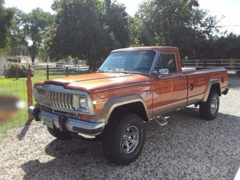 1982 Jeep J10 Pickup. for sale