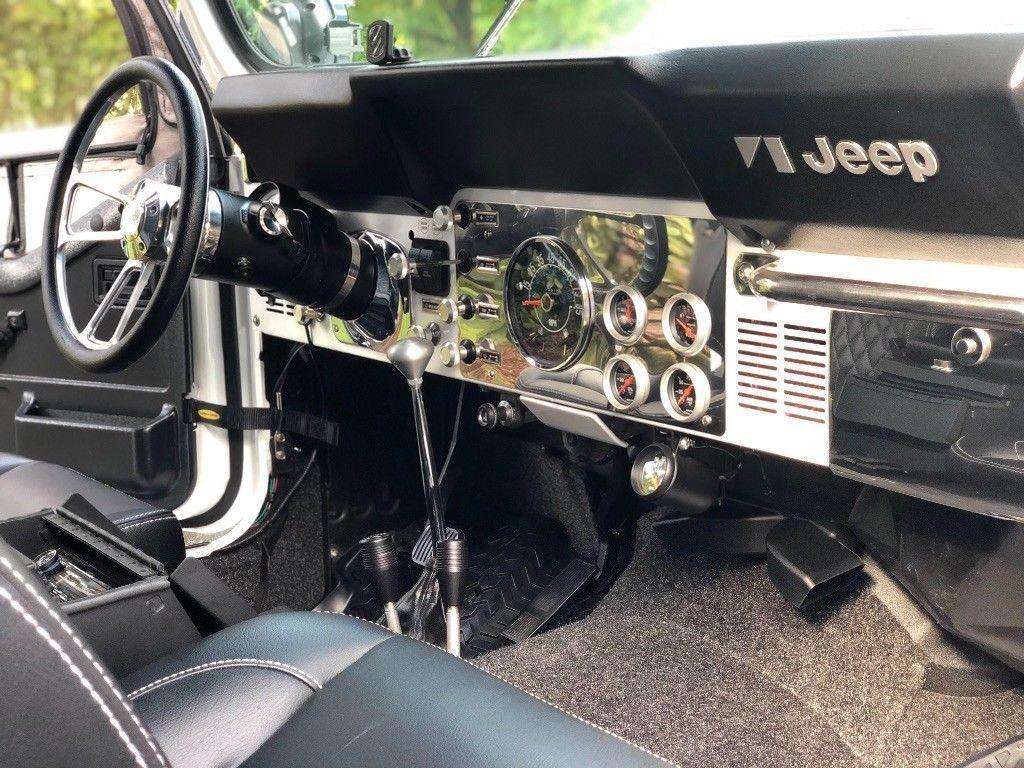 1984 Jeep CJ Scrambler CJ8