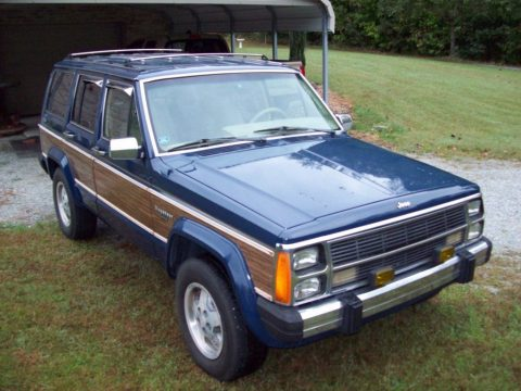 1989 Jeep Wagoneer Limited w/ Wood Grain Trim for sale