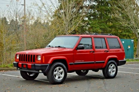 2001 Jeep Cherokee Sport ~ 4WD ~ 48K Miles for sale