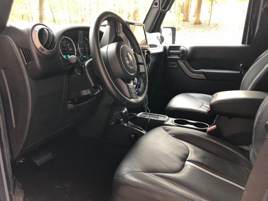 2017 Jeep Wrangler 6 215 6 Custom Throughout For Sale