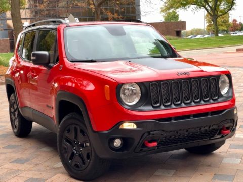 2018 Jeep Renegade Trailhawk 4×4 Navi/ Backupcam/ Panoroof/ Loaded!! for sale