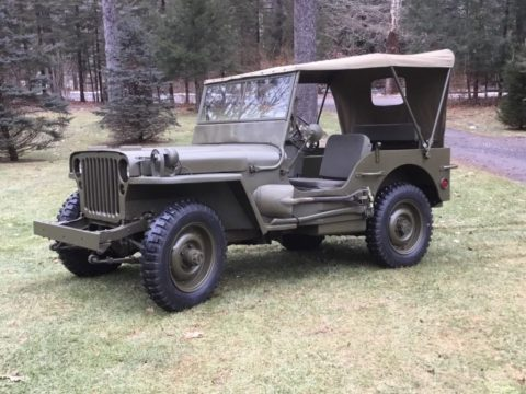 1944 Ford GPW Jeep for sale