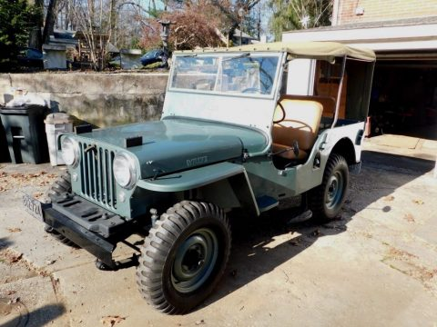 1948 Jeep CJ 2A Willys / Overland 4 x 4 for sale