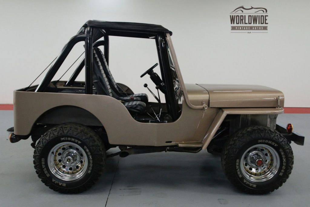 1948 Willys CJ2A 327v8! 4 Speed W/overdrive. 4X4. SOFT TOP.