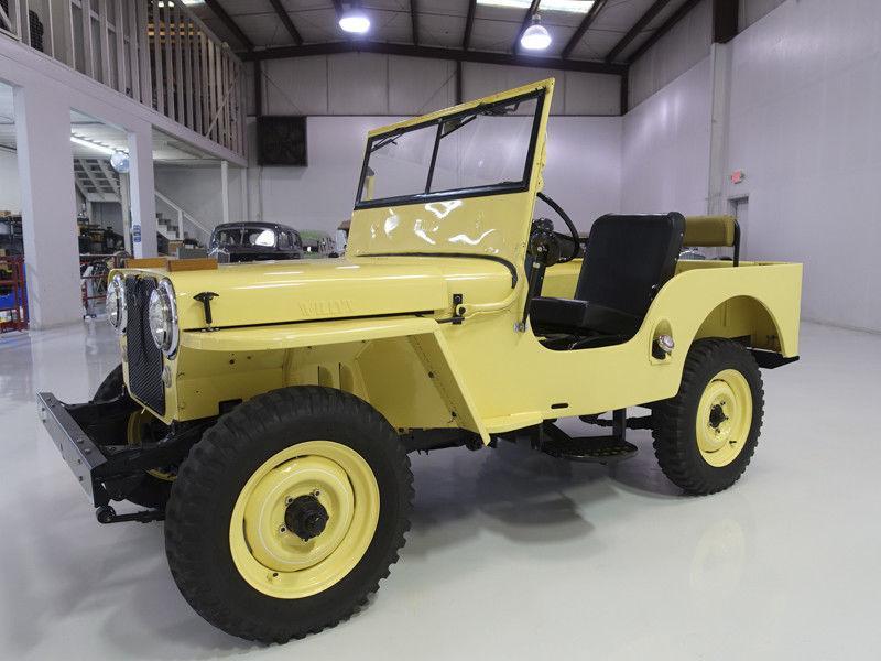 1948 Willys CJ2A | Wonderfully restored