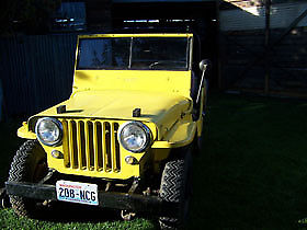 1950 Jeep Willys CJ3A