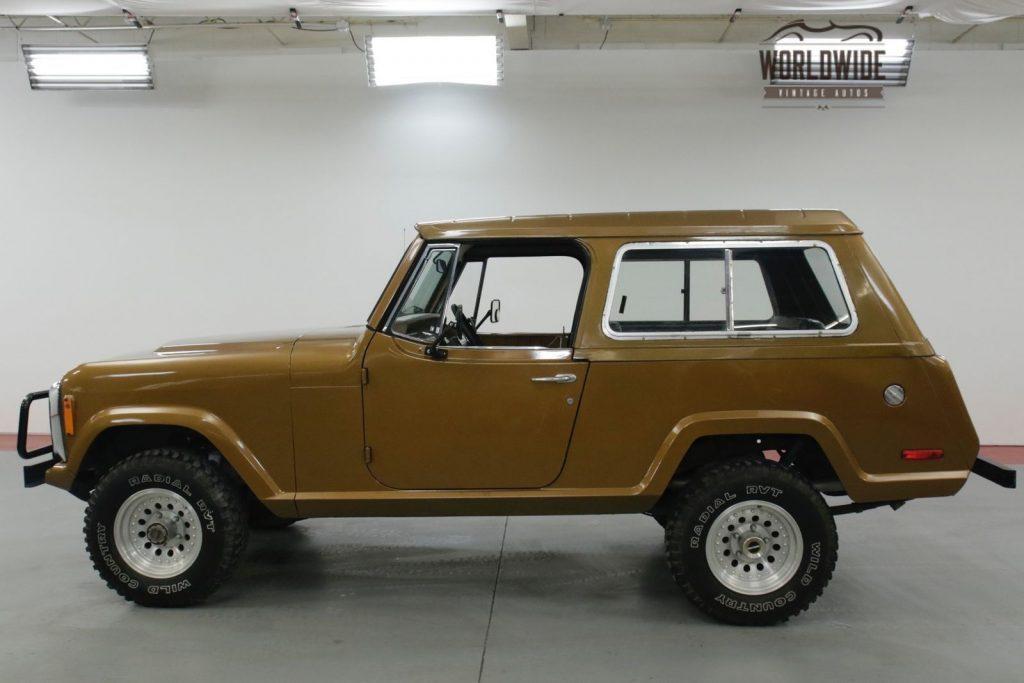 1972 Jeep Commando 304v8 AUTO 4X4 PS Convertible TOP