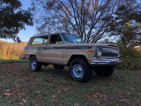 1977 Jeep Cherokee Chief S for sale