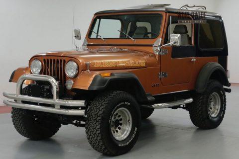 1981 Jeep CJ 8000 Miles ON ENGINE for sale