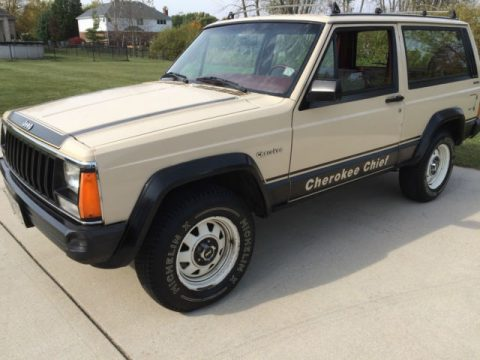 1984 Jeep Cherokee Cummins Diesel Chief for sale