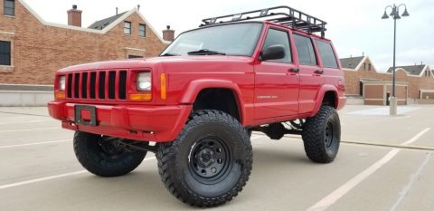 2000 Jeep Cherokee Sport Lifted for sale