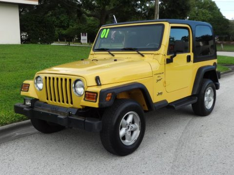 2001 Jeep Wrangler Sport for sale