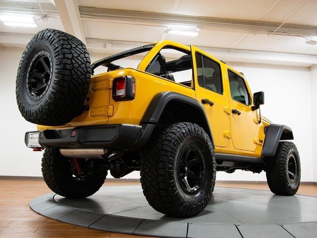2018 Jeep Wrangler JL Unlimited Rubicon Ozark Mountain Edition