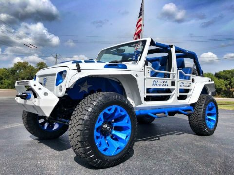 2018 Jeep Wrangler Rubicon Lifted Leather Hardtop 37″S OCD EVO for sale