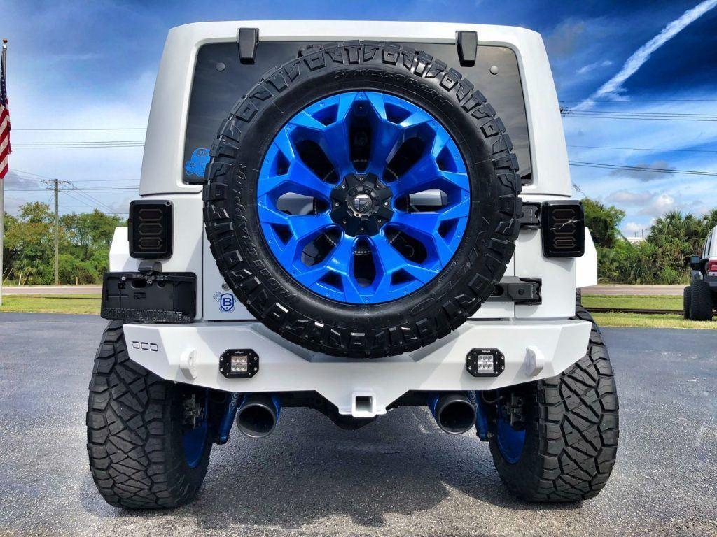 2018 Jeep Wrangler Rubicon Lifted Leather Hardtop 37″S OCD EVO