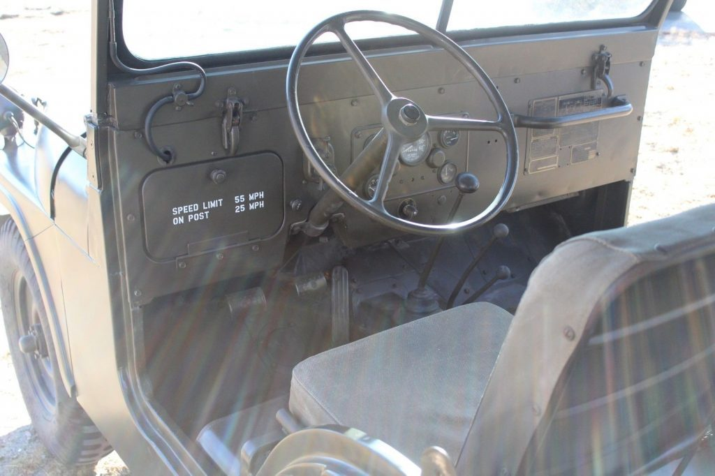 1954 Jeep Willys m38a1
