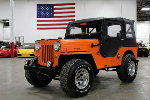 1962 Willys Jeep CJ for sale