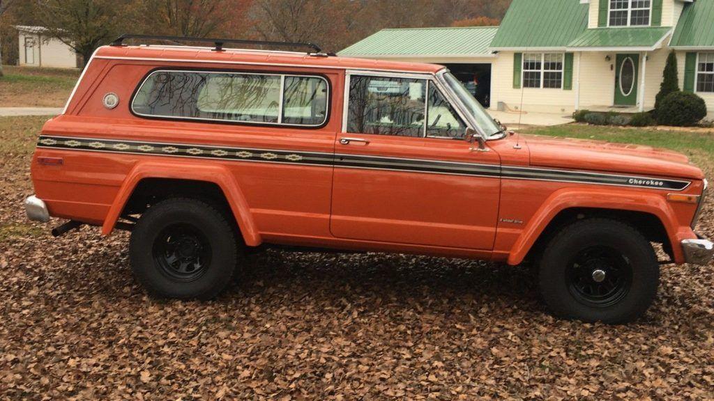 1979 Jeep Cherokee Cheif