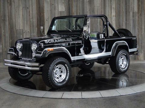 1983 Jeep CJ8 W/hard Top & Two Sets of Doors Fully Restored for sale