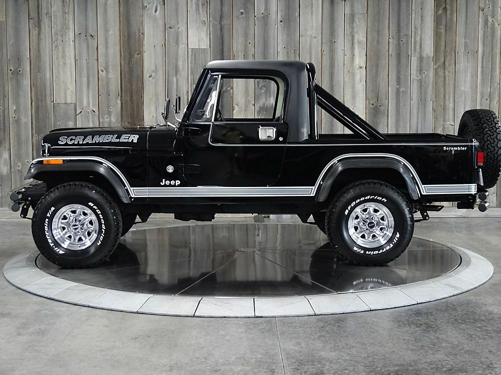 1983 Jeep CJ8 W/hard Top & Two Sets of Doors Fully Restored