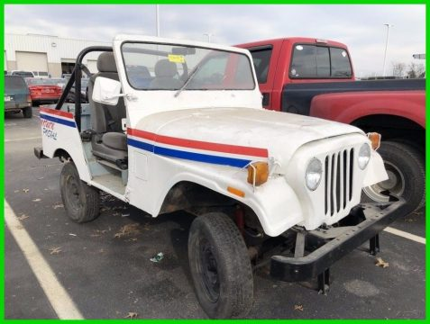 1983 Jeep Wrangler Mail Carrier Postal Service for sale