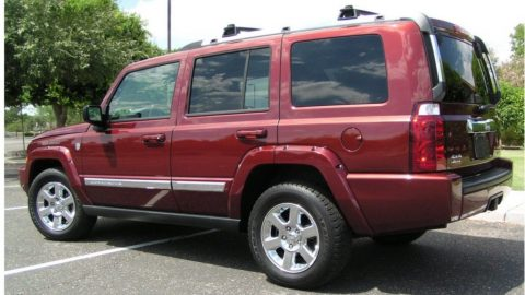 2007 Jeep Commander Limited for sale