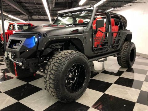 2018 Jeep Wrangler Custom Assault Package JL Wrangler 300HP for sale