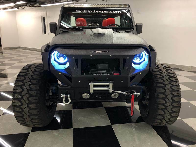 2018 Jeep Wrangler Custom Assault Package JL Wrangler 300HP