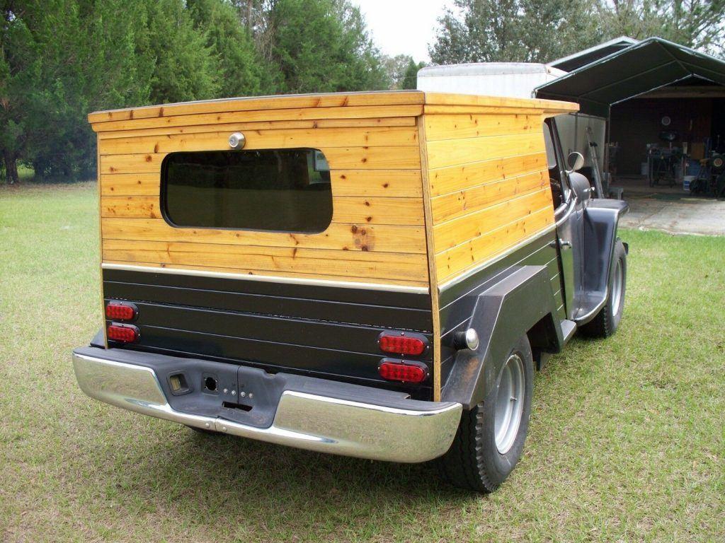 1951 Jeep Willys Station Wagon Woody   Custom
