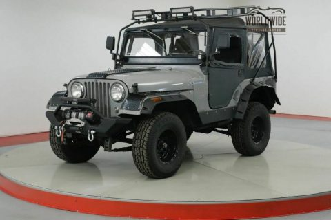 1962 Jeep CJ Willys. Custom Build. 4×4. LED. WINCH for sale