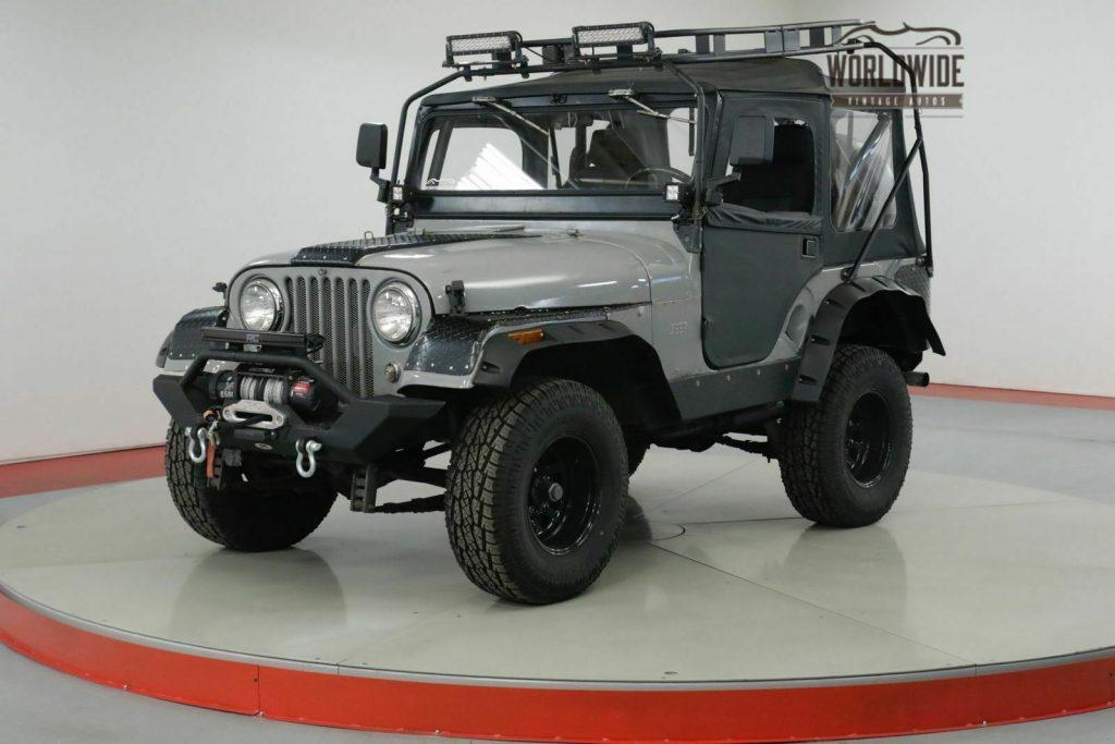 1962 Jeep CJ Willys. Custom Build. 4×4. LED. WINCH for sale
