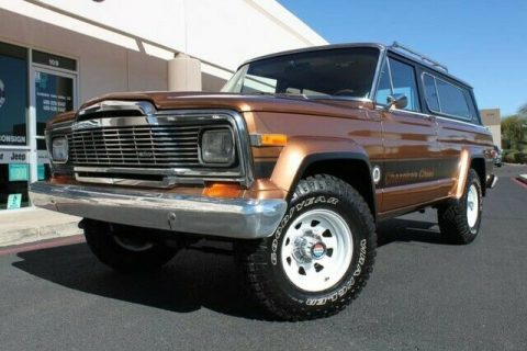 1979 Jeep Cherokee Chief 4X4 Levi's Edition for sale