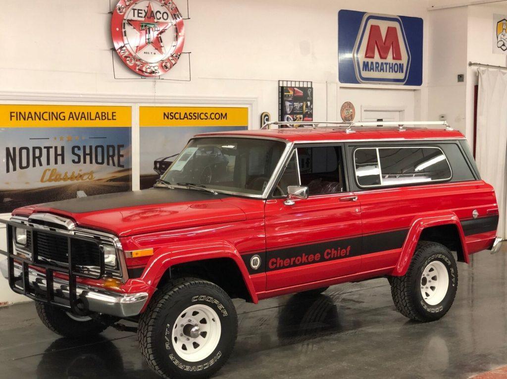 1979 Jeep Cherokee  Chief Wagon 4×4 Arizona Truck Restored for sale