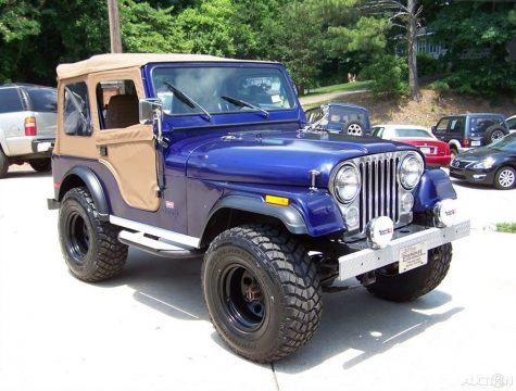 1980 Jeep CJ 4X4  LEVI for sale
